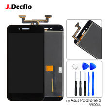 Original For ASUS PadFone S PF500KL PF500 PF-500KL T00N LCD Touch Digitizer Screen Assembly Replacement 5.0'' Black with tools lcd for asus padfone s pf500kl pf 500kl lcd display touch digitizer assembly by free shipping black