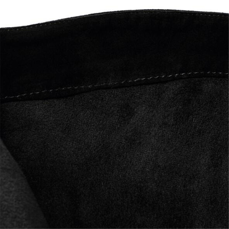Donne Caldi 43 Cashmere Alta Stile Temperamento Modo Tenere E tacco Le Nero Nuovo Sexy Autunno 34 Inverno Di Stivali Semplicità 1 Alto RqvT6vUwt