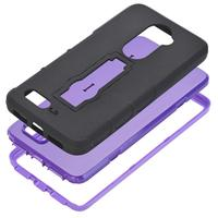 Hard Soft Rubber Impact Armor Case Cover Back Hybrid For ZTE Zmax Pro Z981 Of
