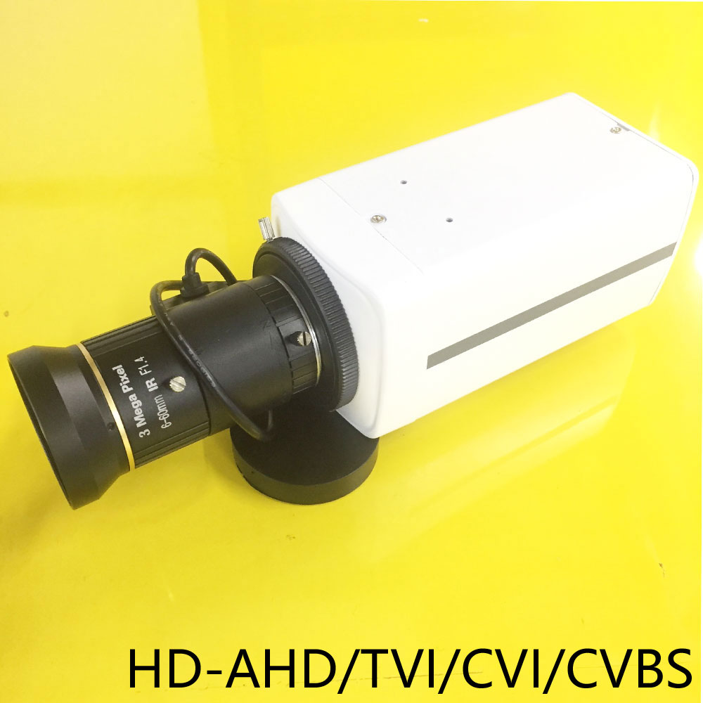 AHD 5-50mm Zoom Lens 1080P Camera HD Varifocal 2.8-12mm lens CCTV Indoor Security HD-AHD/TVI/CVI/CVBS CCTV BOX Camera 4 IN 1 4 in 1 ir high speed dome camera ahd tvi cvi cvbs 1080p output ir night vision 150m ptz dome camera with wiper