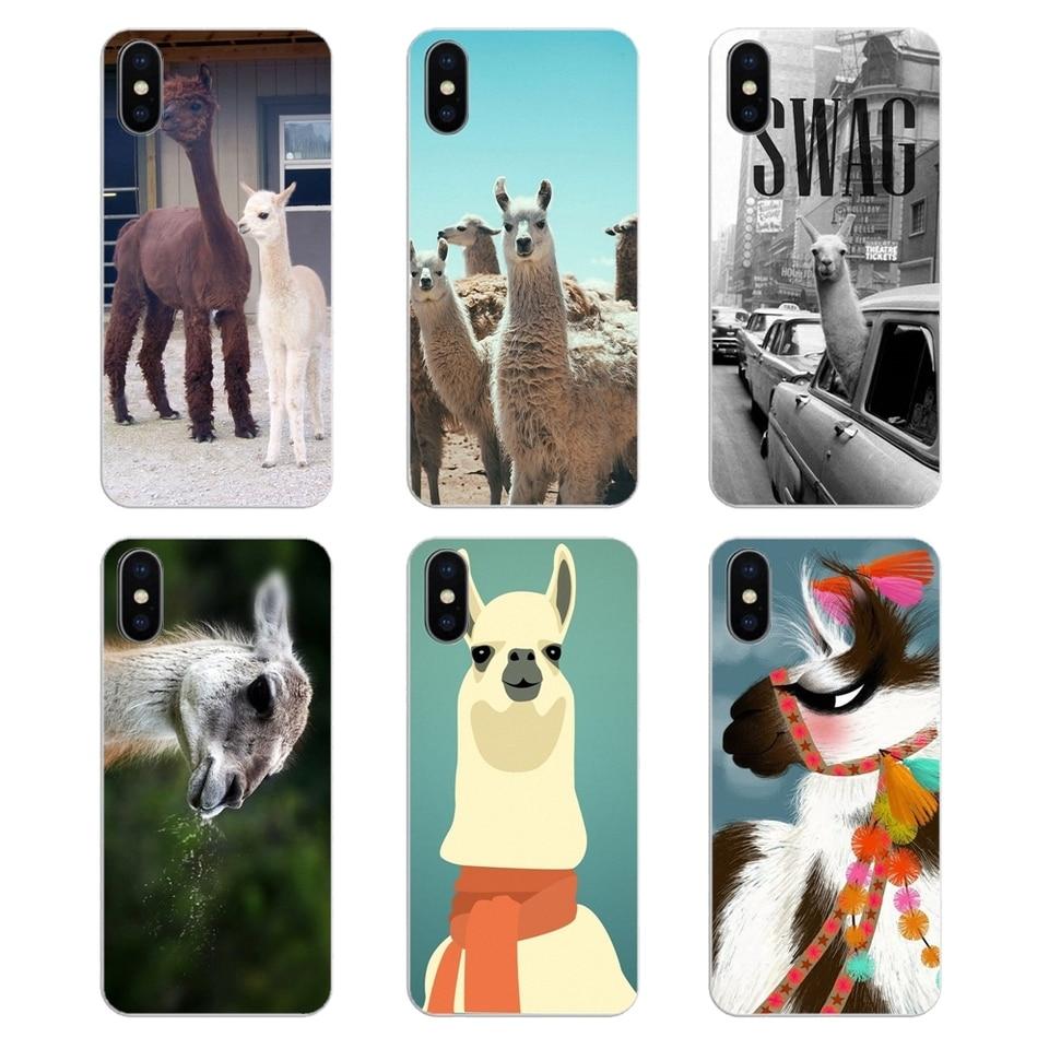Lama Llama Alpacas Animal Wallpaper Transparent Tpu Skin Case For Samsung Galaxy A5 A6 A7 A8 A9 J4 J5 J7 J8 2017 2018 Plus Prime Fitted Cases Aliexpress