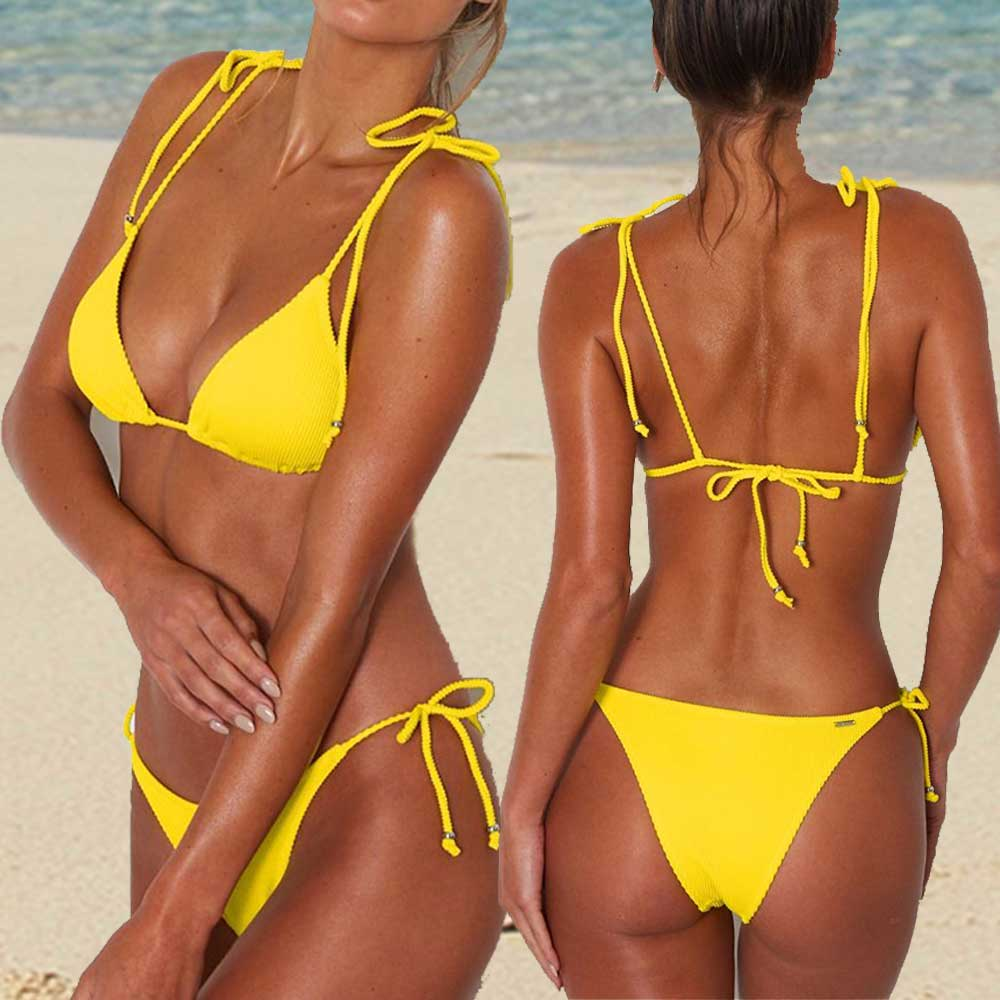 Solid Sexy Brazilian Bikini 2019 Low Waist Thong Bikini Set Push Up Padded Micro Bikinis Women Swimsuit Swimwear WomenSolid Sexy Brazilian Bikini 2019 Low Waist Thong Bikini Set Push Up Padded Micro Bikinis Women Swimsuit Swimwear Women