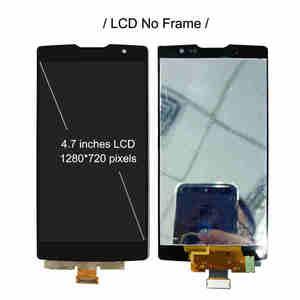Image 2 - LCD + ramki do LG Spirit 4G LTE H440 H440N H440Y H442 H443 H420 H422 C70 Y70 H445 wyświetlacz ekran dotykowy czujnik Digitizer zgromadzenia