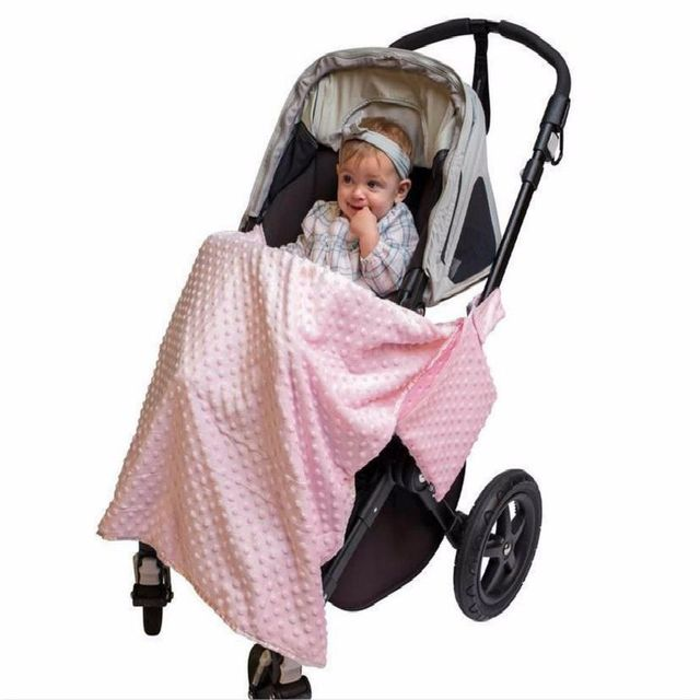 Stroller Blanket Baby Carseat Canopy Cover Newborn Girls Boys Soft Cotton Car Seat