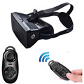 3D Video Glasses Universal Virtual Reality + Bluetooth Game Controller for 3.5 to 6 Inch Smartphones LJJ0120