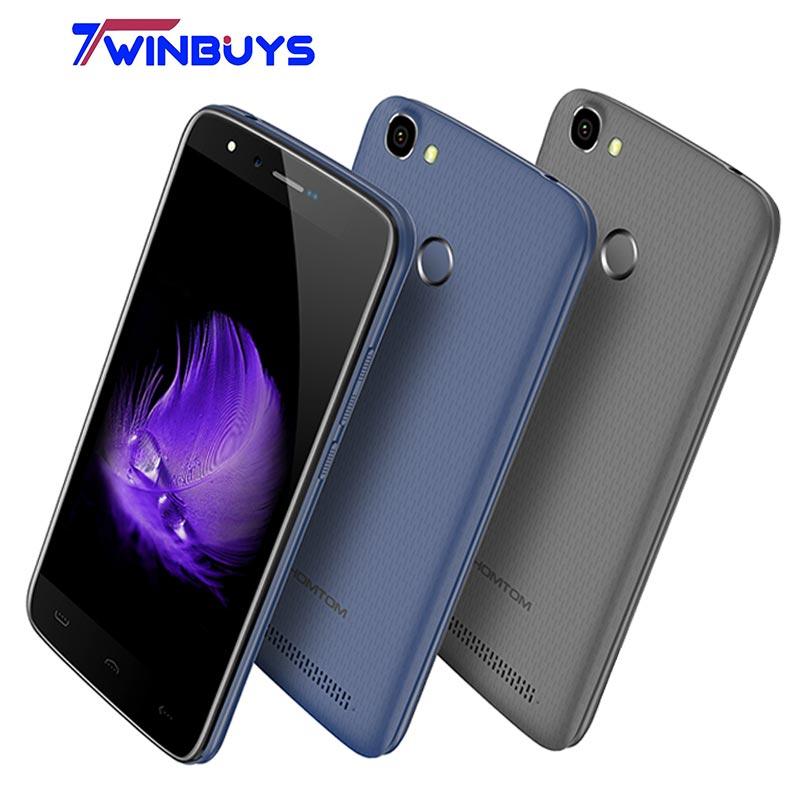 bilder für HOMTOM HT50 4G LTE Smartphone 5500 mAh 9 V/2A 5,5 ''HD MTK6737 3 GB + 32 GB Quad Core Android 7.0 13MP + 13MP Fingerabdruck Handy