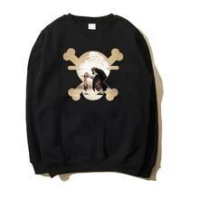 High-Q Unisex OP One piece Monkey D Luffy Hoodies pullover jacket coat One piece Akakami no shankusu coat Hoodies Sweatshirts