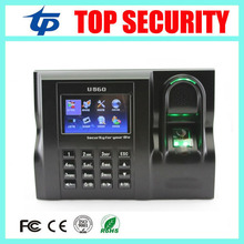 Good quality U560 biometric fingerprint time attendance terminal TCP/IP USB linux system fingerprint recognition time recorder