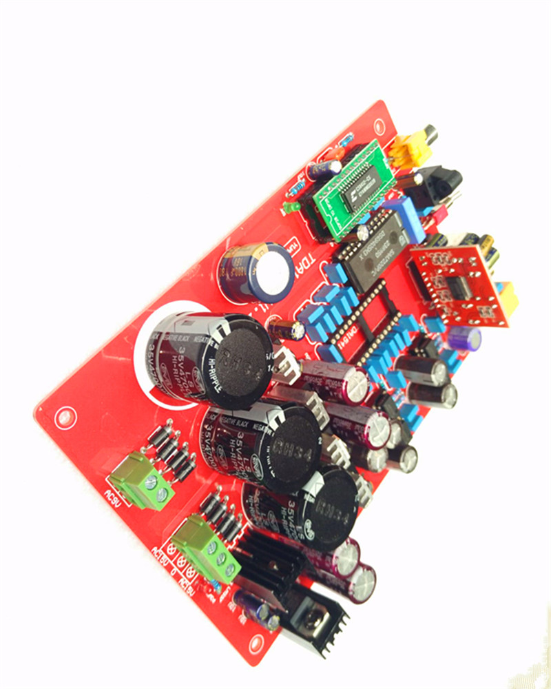 Cs8412 Ne5534 Tda1541 Optical Fiber Coaxial Decode Board Including Usb Without 1541 Ic Yj00122 In Amplifier From Consumer Electronics On
