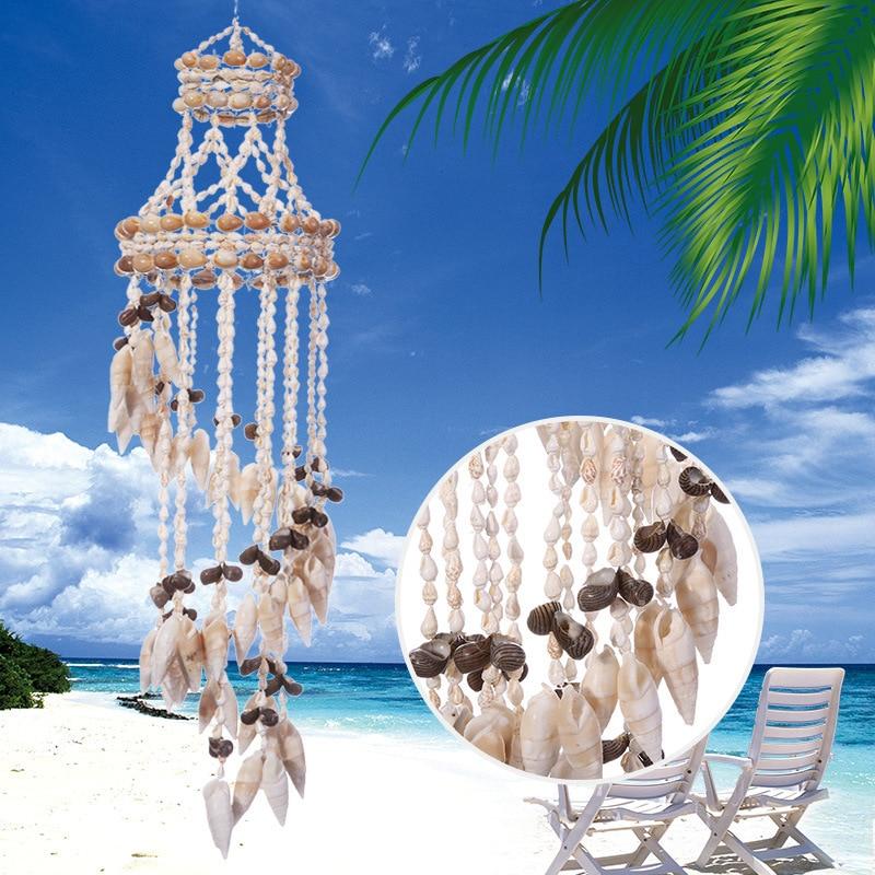2019 coquille conque capteur de rêves à la main carillons éoliens suspendus nordique pépinière décor décoration murale enfants chambre enfants chambre décoration