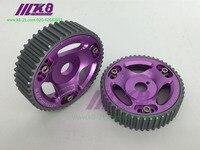 2PCS Adjustable DOHC Cam Gears Alloy Timing Gear For TOYOTA Supra 1J/2J/TE