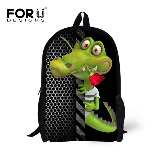 Lienzo BackpacksCool Bolsas Escuela Primaria para Niñas 3D Animal Dinosaurio Niños Mochila Estudiante Mochila Bolsas Mochilas Femininas