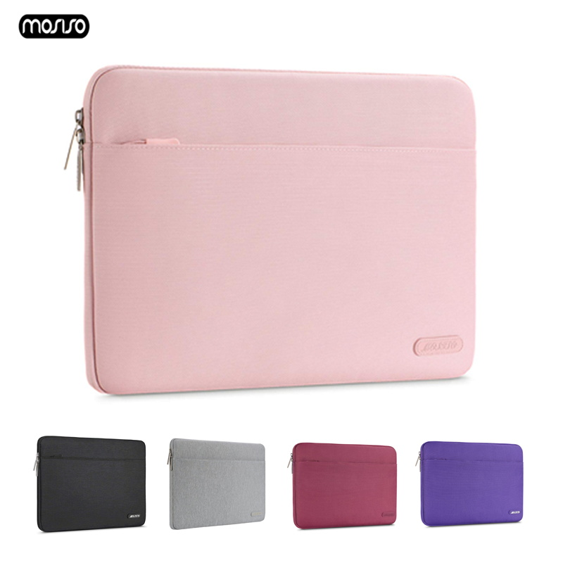 """MOSISO Laptop Sleeve Case Waterproof Protective Notebook Bag Carrying Case for 13"""" 14"""" 15"""" Macbook Air Pro ASUS Acer Lenovo Dell-in Laptop Bags & Cases from Computer & Office"""