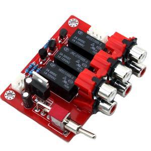 Image 3 - DC12V trzy sposób wejście wejście Audio przełączania wyżywienie YJ00309