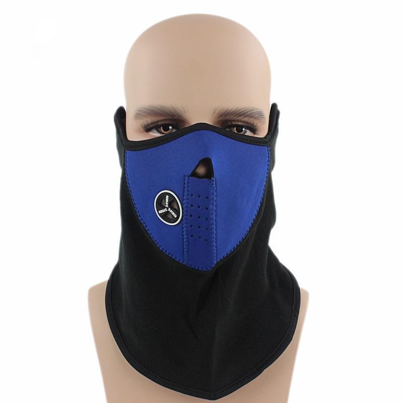 Fleece Earmuffs Face Hood Protection Bike Cycling Ski Sport Outdoor Winter Neck Guard Scarf Warm Ear Muffs