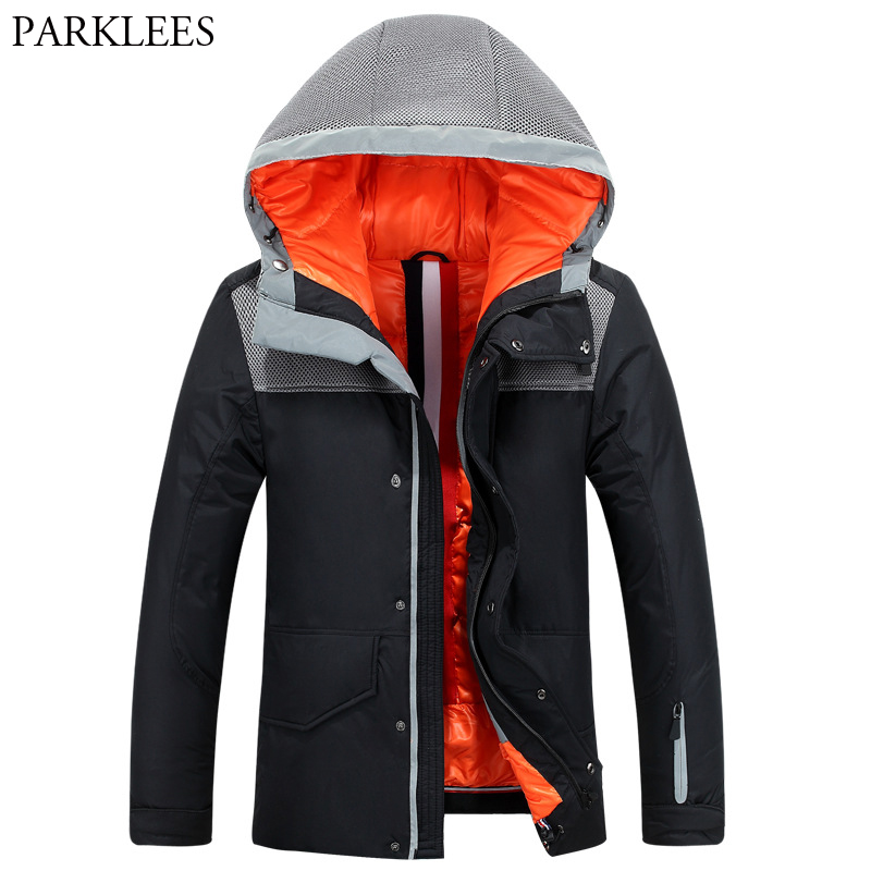 White Duck Down Jacket Men 2017 Winter Warm Mens Jackets and Coats Windproof Parka Manteau Homme Hiver Jaqueta Masculino Inverno