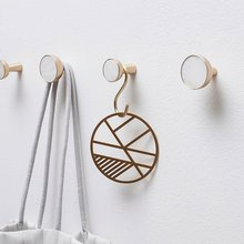 Brass Wall Hook Coat Hangers Bag Hooks Hat Curtain Tie Back Hanger / Decorative Pure Copper