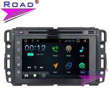 Topnavi Android 6.0 1g + 16 GB dos DIN PC para coches multimedia reproductor de DVD para GMC Yukon/Tahoe/ acadia estéreo GPS Navi táctil capacitiva 3G