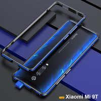 for Xiaomi Mi 9T case funda Original Luxury Glossy Aluminum bumper case for Xiaomi Mi 9T Pro phone cover Metal Frame case