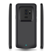 Portable Power Bank Charging Cases For Samsung Galaxy S9 Plus External Battery Charger Backup Back Clip Battery Case Galaxy S9