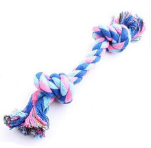 pet dog knot toys puppy dog cat rope type dumbbell toys dogs chew toys uk stock