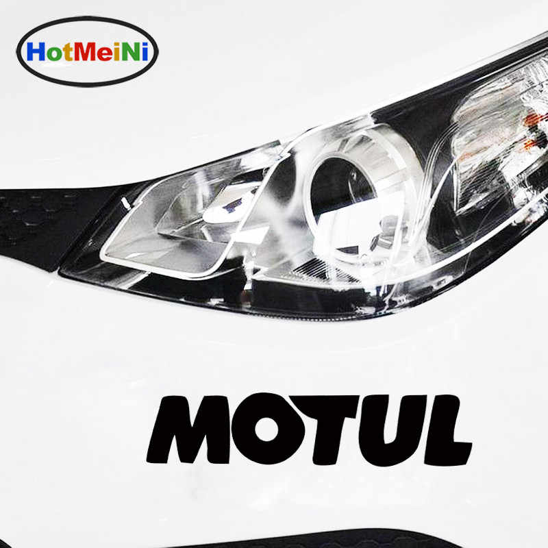 HotMeiNi 20*4.2cm Hot Sale Cool Motul Oil Body Stickers Car Sticker JDM vinyl Decal drop Car Styling Accessories Black/Sliver