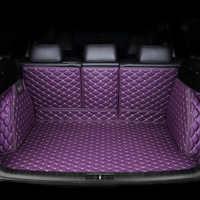 Alfombrilla de maletero de coche personalizada para Porsche todos los modelos de Cayenne Macan accesorios de automóvil estilismo personalizado forro de carga