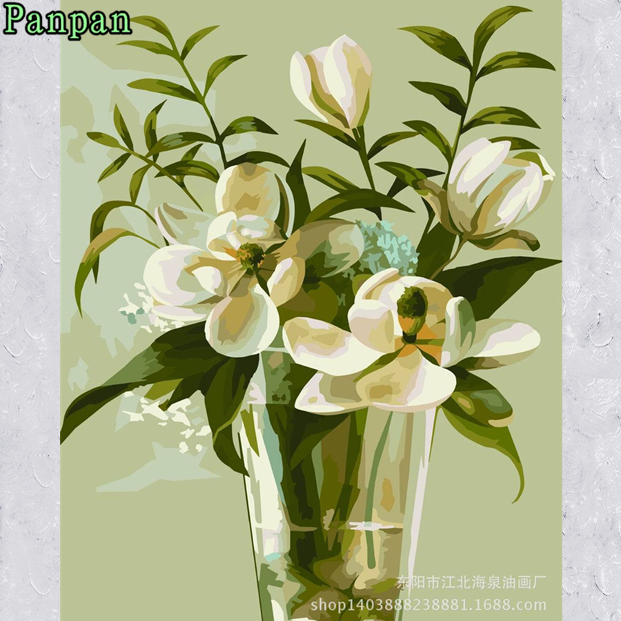New Frameless Pictures DIY Digital Oil Painting Coloring By numbers ...