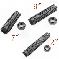 Tactical Rifle Accessories 7 9 12 Length M16 M4 AR 15 Hand Gurad Shooting Paintball Picatinny