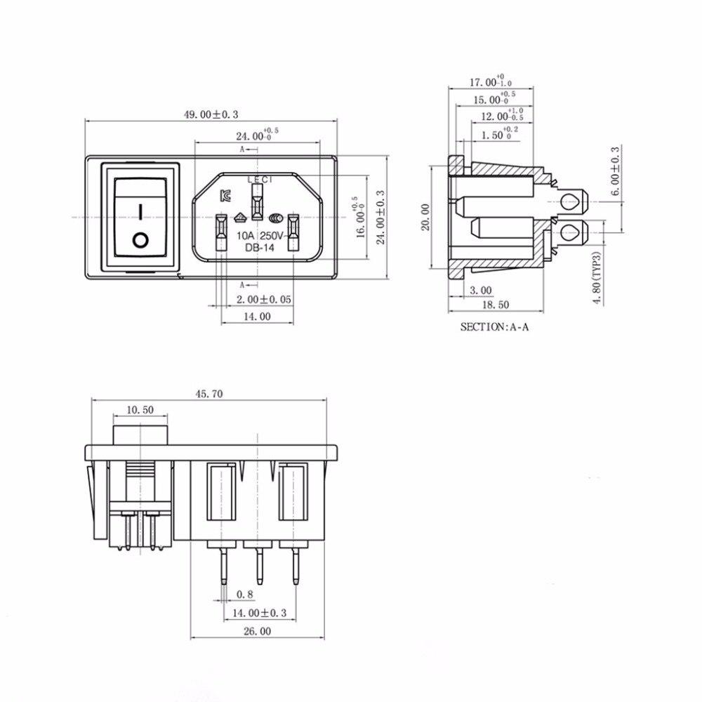Spst C14 Wiring Diagram | Wiring Diagram  A V Plug Wiring Schematic on 10a 250v fuse, power plug, three pin plug, 10a 250v power cord, 10a 125v plug, 10a 250v adapter usa,