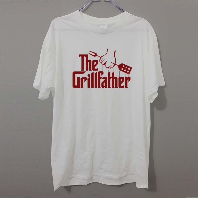 The Grillfather Fête des Pères Papa BBQ Cadeau T-Shirt