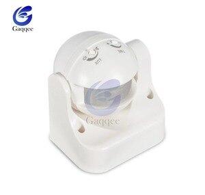Image 3 - Sensor de movimento infravermelho pir, sensor de movimento detector de 220 graus uso externo ac 240v 110v 180 v ip44 interruptor de movimento máx 12m 50hz 3 2000lux