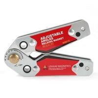 ALLSOME 20 200 Degree Adjustable Angles Welding Magnet/Neodymium Magnet Magnetic Welding Clamp WM10 HT2391