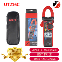 New Uni T Ut216c 600a True Rms Digital Clamp Meters Auto Range W Frequency Capacitance Temperature & Ncv Test Megohmmeter