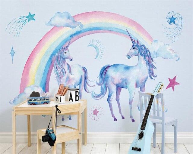 Beibehang Children S Room Backdrop 3d Wallpaper Murals