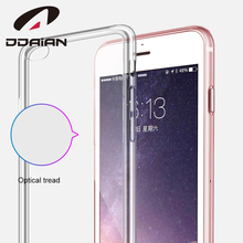 Ddaian for iPhone 6 Case Ultra Thin Soft Mobile Phone Protective Tpu Cases Anti-knock Transparent Dirt-resistant Shell стоимость