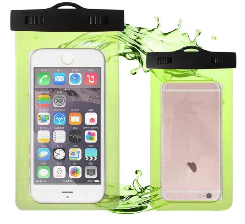 100 teile/los Universal Handytasche Für iPhone X 8 8 Plus 7 7 Plus Samsung Huawei Telefon Fällen eine Einfache Wasserdichte Handy taschen Abdeckung
