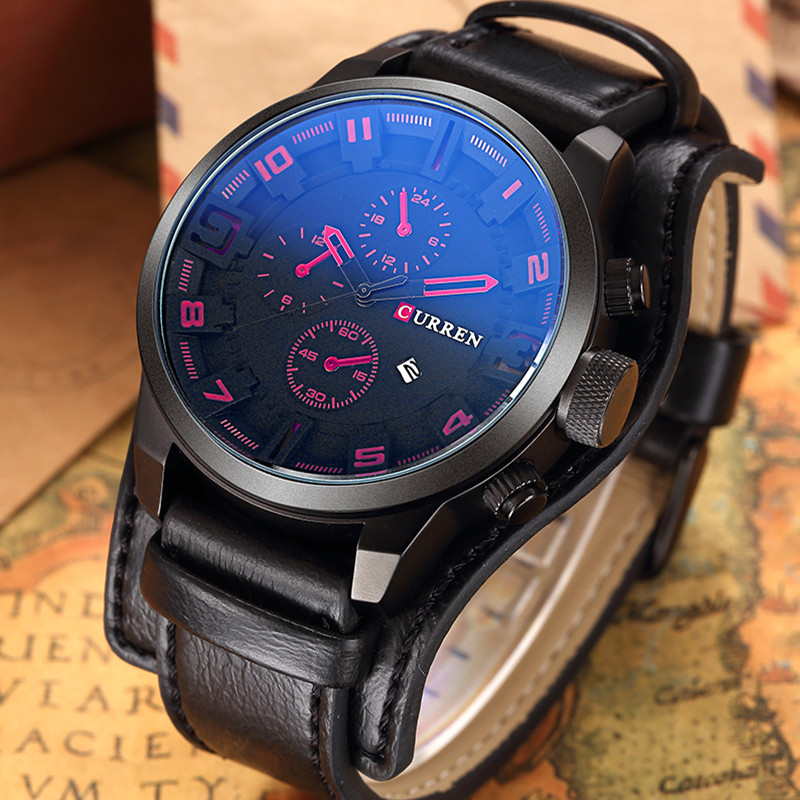 curren s casual sport quartz mens watches top