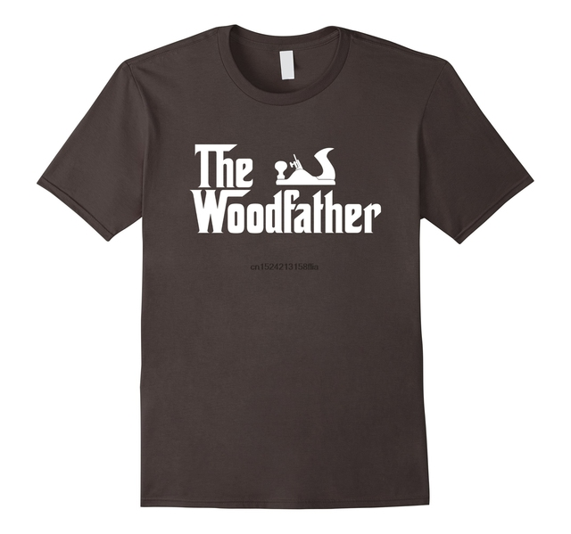 d62638aa The Wood Father Funny Woodworking Carpenter T Shirt Gift-in T-Shirts ...