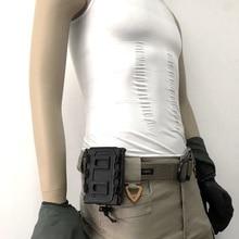 Открытый Молл Тактические одиночные подсумок для оружия сумка регулируемый ремень подсумок для журналов костюм для 5,56 мм/7,62 мм пули
