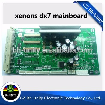 Brand New!! dx7 eco solvent printer main board for Inkjet printer Xenons mainboard brand new novajet inkjet printer 750 1000i carriage board head board for sale