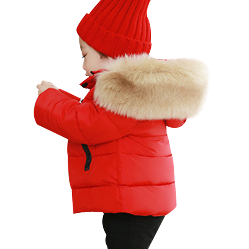 Baby Girls Boys Winter Warm Clothing Cotton Jacket Outerwear Infant Children Outfits Clothes Casual Sports Hooded Jackets Coats autumn winter baby hats new fashion children warm ball hat double color boys and girls cotton caps beanies baby knitted hat