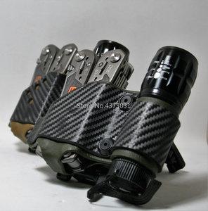 Image 4 - 1 قطعة Kydex K غمد بالحرارة مجلس استيراد من أمريكا الكربون الألياف الأفعى حك ل DIY سكين K غمد حالة