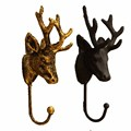 European-style clothing store display racks coat hanger clothes shop wall iron wall hooks deer wall hanging point