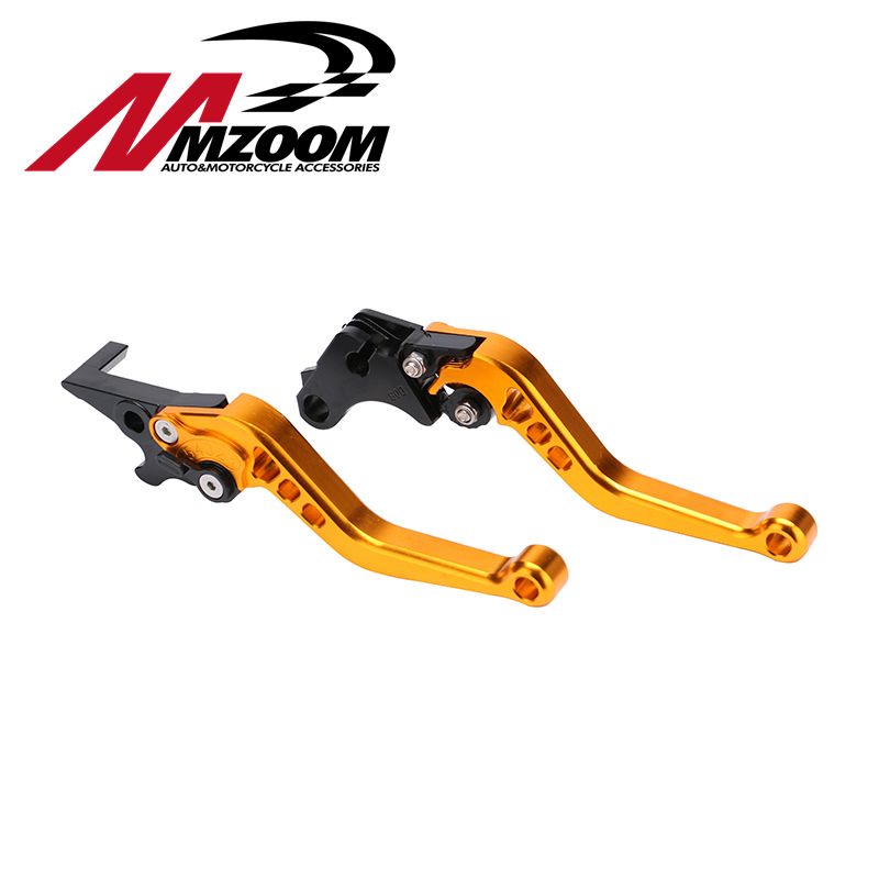 Motorcycle CNC aluminum Shorty Adjustable Brake Clutch Levers For Honda GROM MSX 125 2013 - 2015 шаль just cavalli шаль