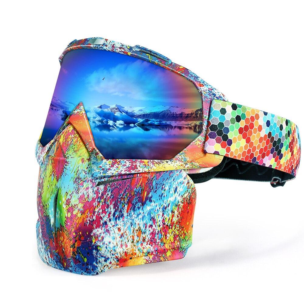 111815b2f5 Joytutus gafas de esquí nieve snowboard gafas de protección de Ojos de  nieve gafas de doble