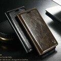 Chegada de Luxo Magnetic Auto Flip Original bolsa em Couro Genuíno Caso Do Telefone Móvel casos para lg g4/g5/v10 tampa acessórios js0188