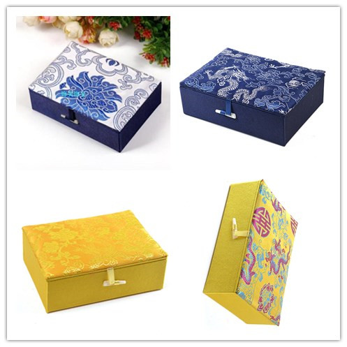 5pcs Chinese Handmade Brocade Rectangle Gift Boxes Jewelry Storage Boxes  Craft In Jewelry Packaging U0026 Display From Jewelry U0026 Accessories On  Aliexpress.com ...