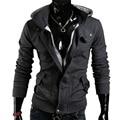 Shelikeit Mens calientes de la venta Casual Mens Assassins Creed especial chaqueta de sudadera con cremallera espesar hombres chándales M-XXL 38EW