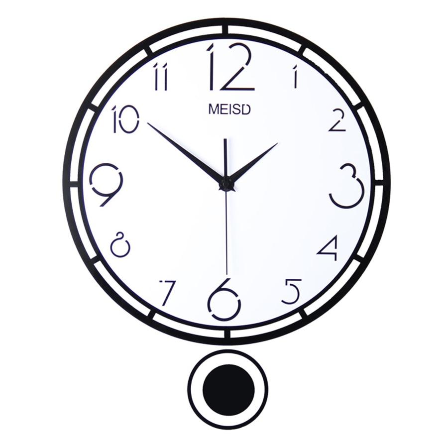 Designer pendule bricolage cuisine maison horloge murale enfants Oclock coucou grand 3d acrylique moderne montre murale Quartz silencieux grand 50B0045